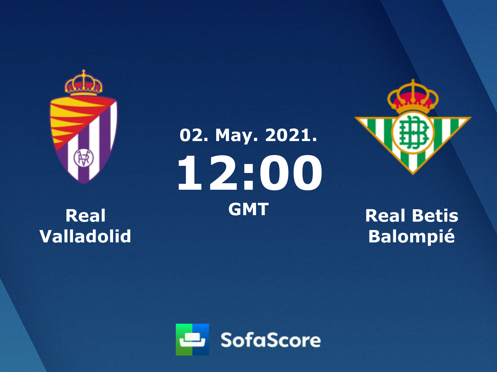 Real Valladolid Vs Betis Live 2 May 2021 Soccer365 Me