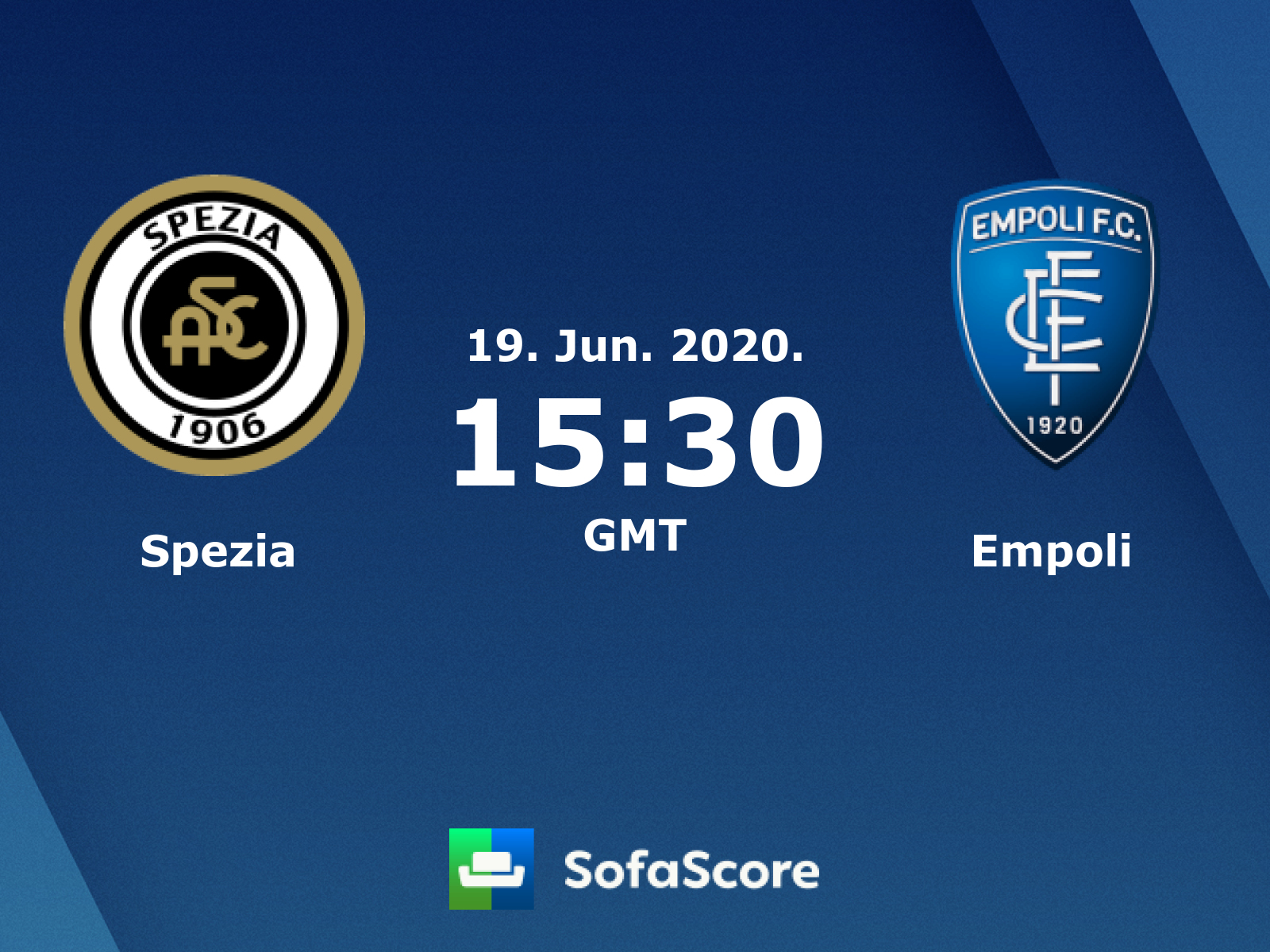 Spezia Empoli Live Score Video Stream And H2h Results Sofascore