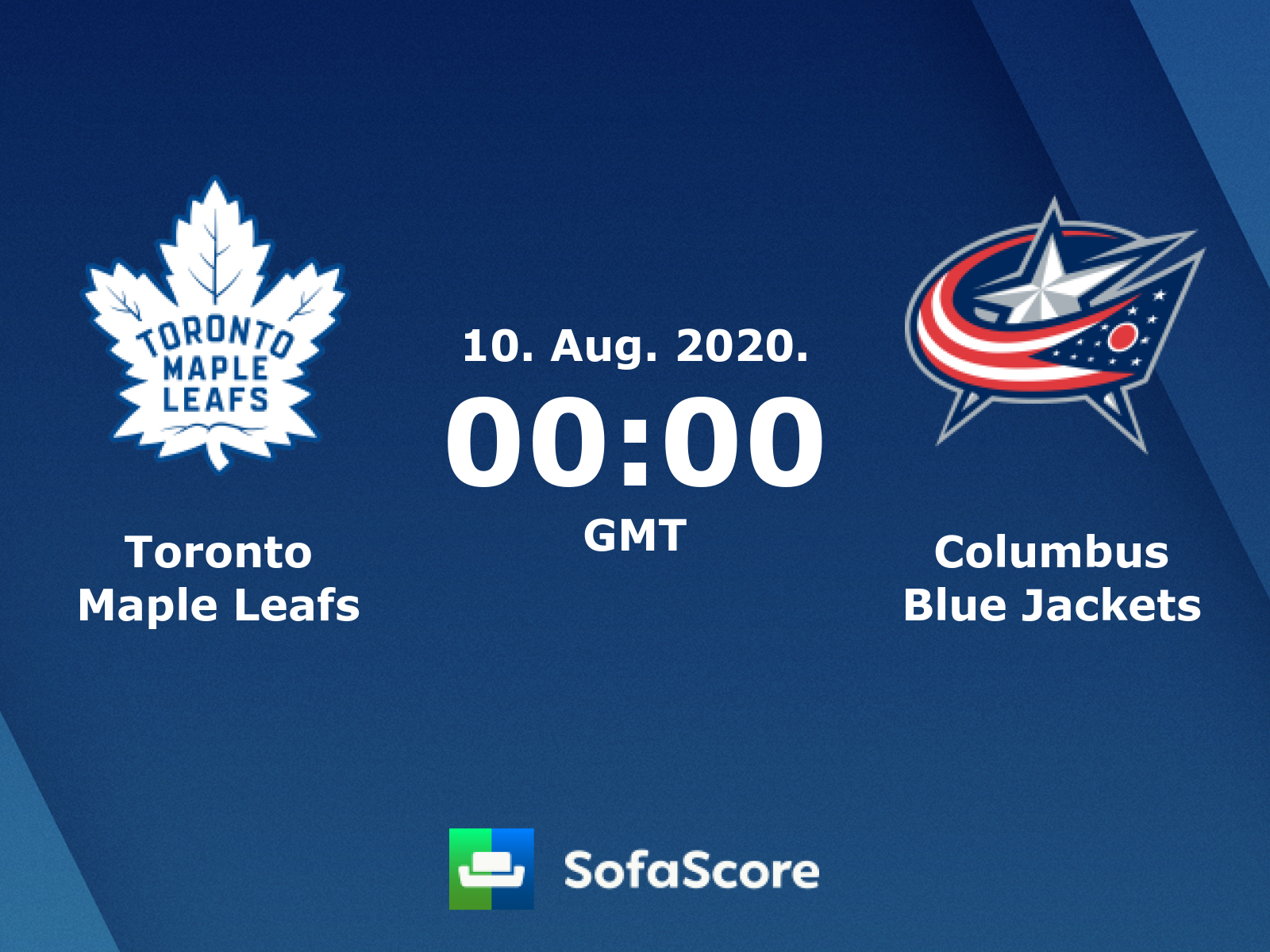 Toronto Maple Leafs Columbus Blue Jackets Live Score Video Stream And H2h Results Sofascore