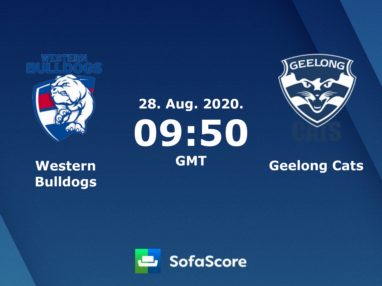 Western Bulldogs Geelong Cats Live Score Video Stream And H2h Results Sofascore