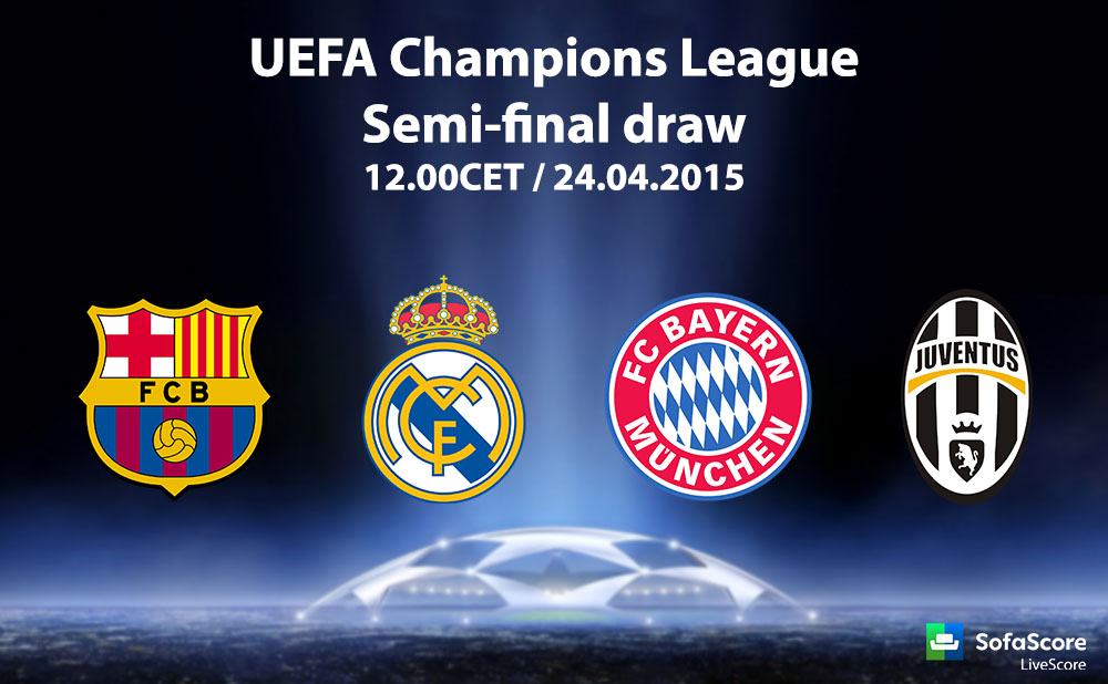Bayern, Barcelona, Juventus and Real Madrid in Champions ...