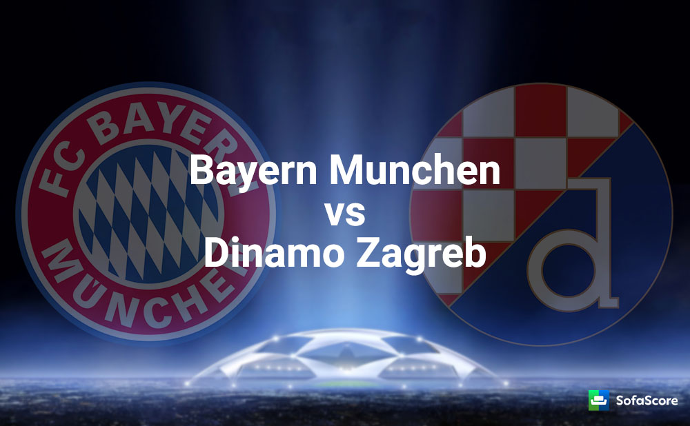 Bayern Munchen Vs Gnk Dinamo Zagreb Match Preview And Live Stream Information Sofascore News