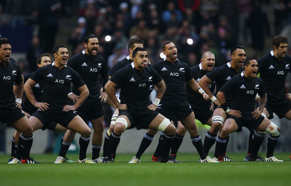All Black Haka Rugby Dance Before Match With Namibia
