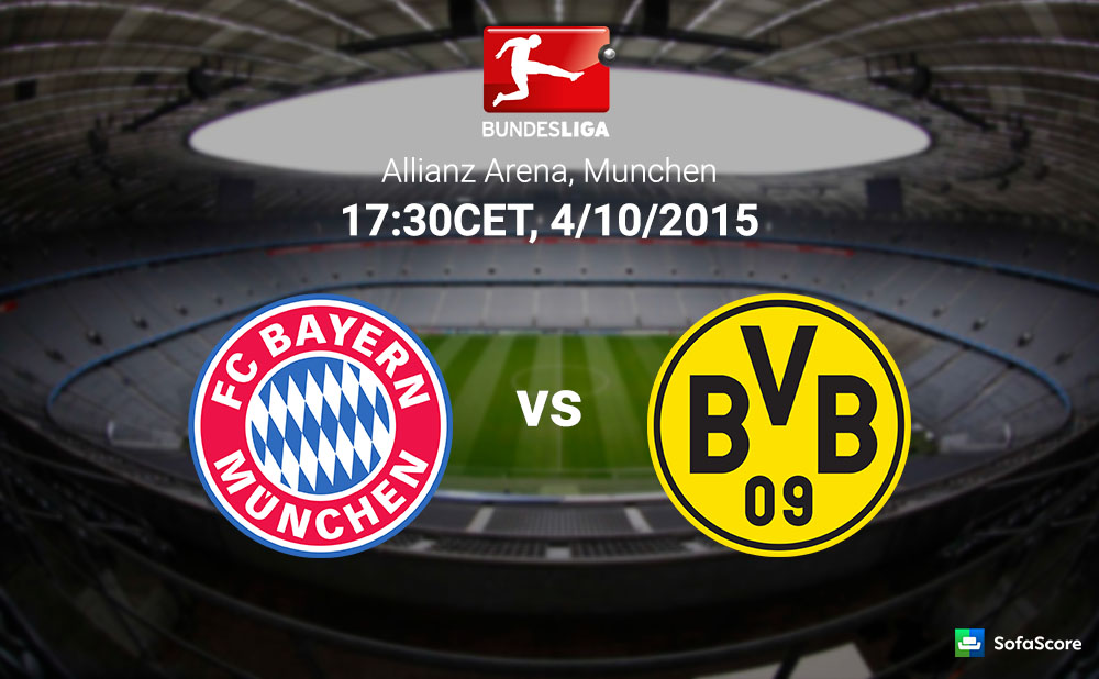 bayern m nchen vs borussia dortmund match preview and live stream information sofascore news. Black Bedroom Furniture Sets. Home Design Ideas