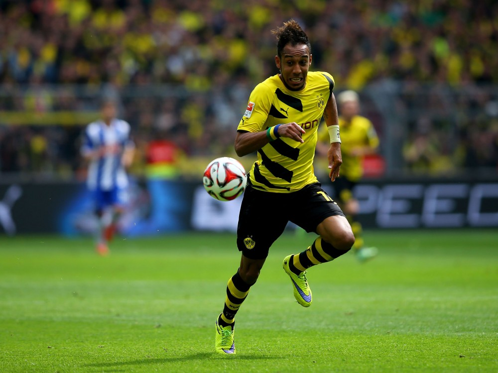 Aubameyang Picture: Manchester United Chasing Aubameyang