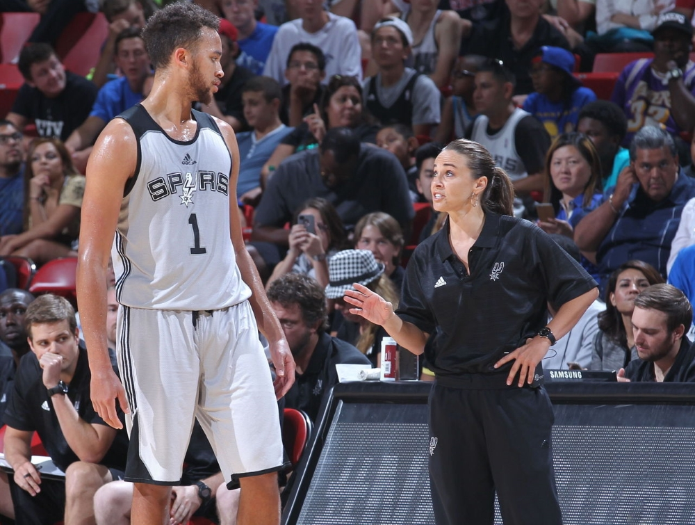 Story of Becky Hammon - The first woman coach in the NBA ...