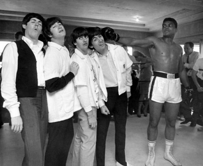 Extraordinary sport historical photos and videos  : The Beatles meet Muhammad Ali 1964 from www.sofascore.com size 680 x 556 jpeg 182kB