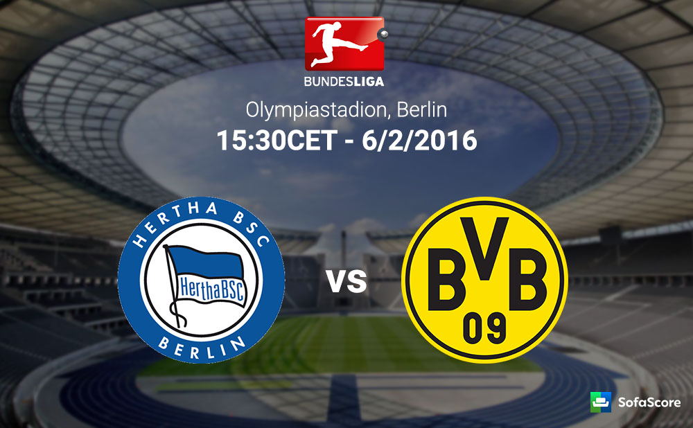 hertha dortmund live streaming