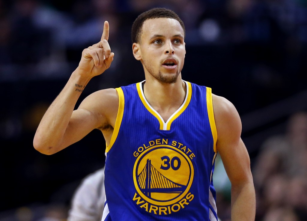 Steph curry is the face of the nba for next generation for Does steph curry have tattoos