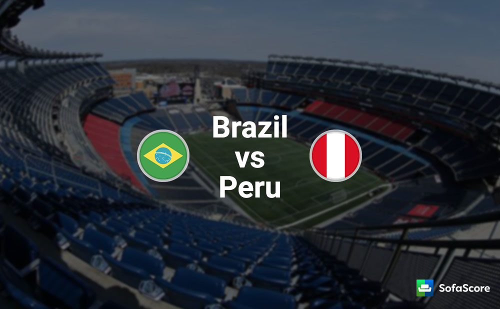 Brazil To Confirm First Place Against Peru Sofascore News
