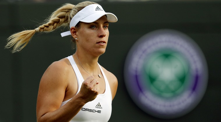 Germany's Angelique Kerber triumphs over United Kingdom's Laura Robson to open her 2016 Wimbledon campaign.