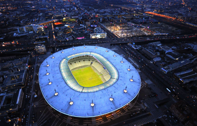 Stadiums that will host euro cup sofascore news - Superficie stade de france ...