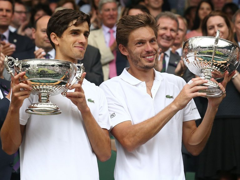 Mahut and Herbert win all-French men's double final