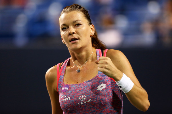 Agnieska Radwanska breaks through to Connecticut Open semifinals