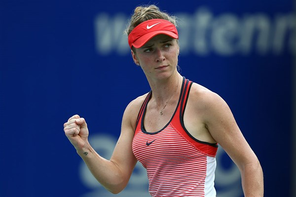 Elina Svitolina avoids a first round upset