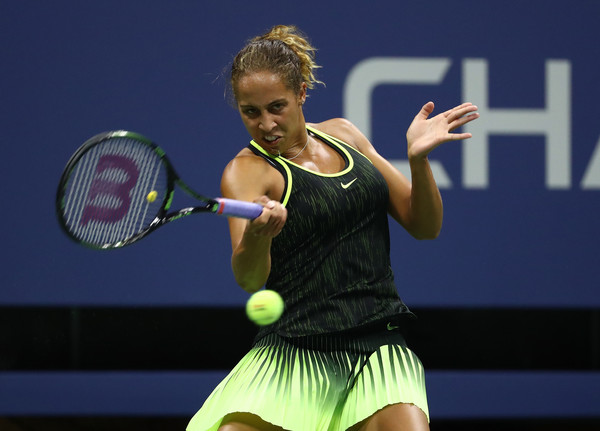 Madison Keys sneaks past American compatriot