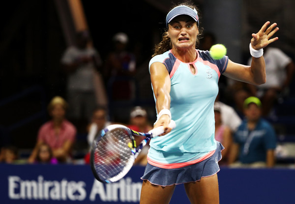 Monica Niculescu will face Romanian compatriot Ana Bogdan in round two of the 2016 US Open.