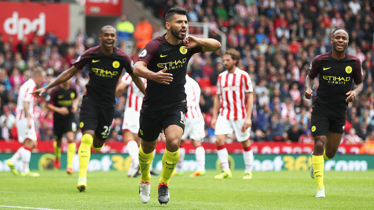 City striker Aguero charged by FA with violent conduct