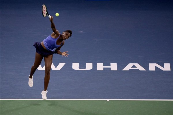 Defending Wuhan Open champion Venus Williams