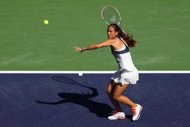 Daria Kasatkina defeats fellow next generation talent Louisa Chirico to reach the second round of the 2016 China Open.