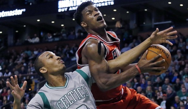 Bulls spread the scoring in road rout of Nets
