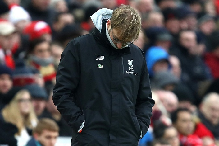 Tears at Anfield as Swansea shock Liverpool (see goals)