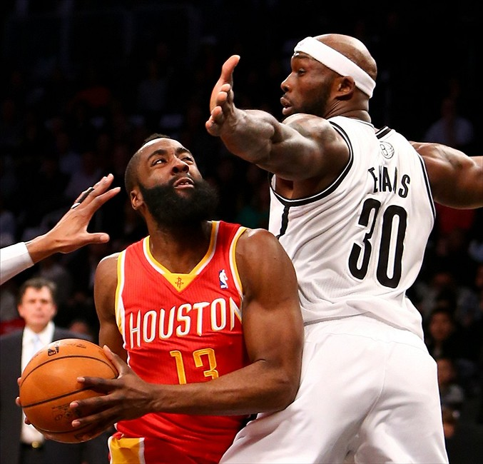 Triple No.12 for Harden in Rockets rout