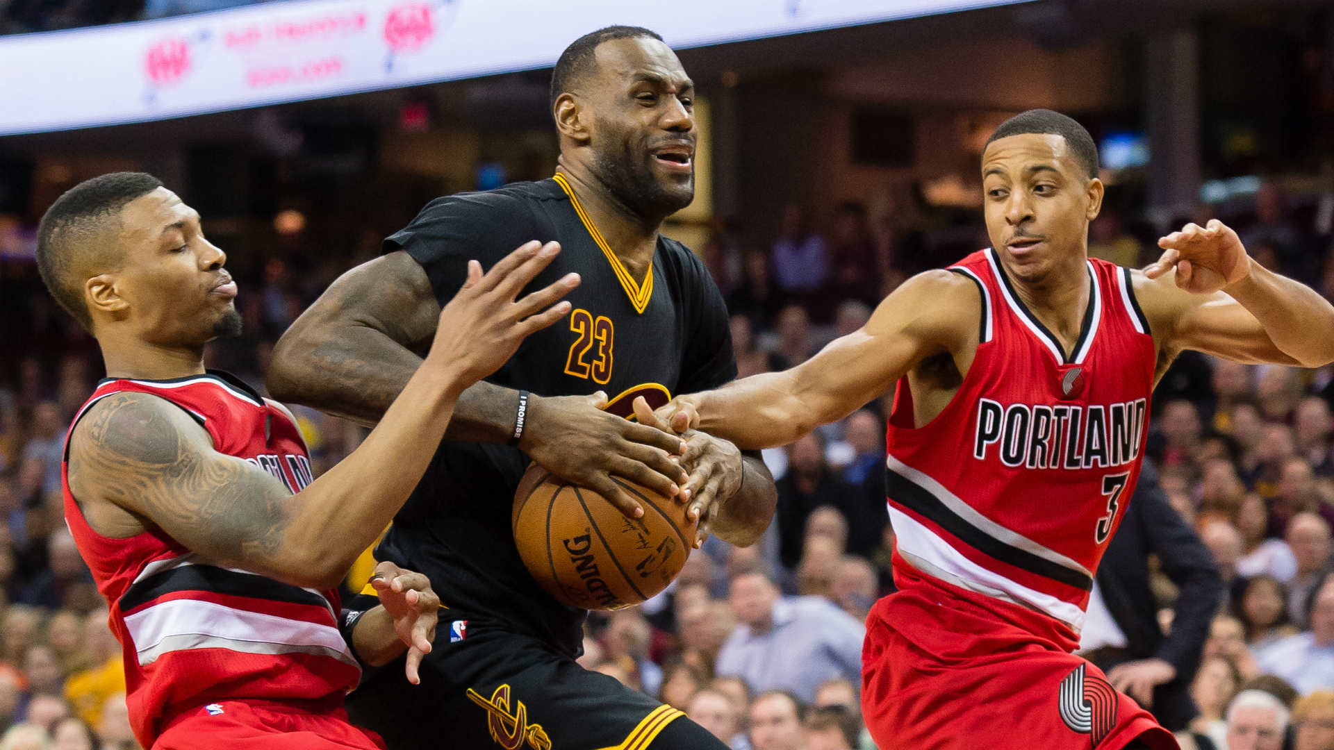 The Cleveland Cavaliers and the Portland Trail Blazers will meet for the final time this season