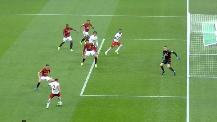 VIDEO Southamptons WRONGLY disallowed goal in EFL final  : Offside Manchester United 3 2 Southampton EFL Cup from www.sofascore.com size 705 x 396 png 327kB