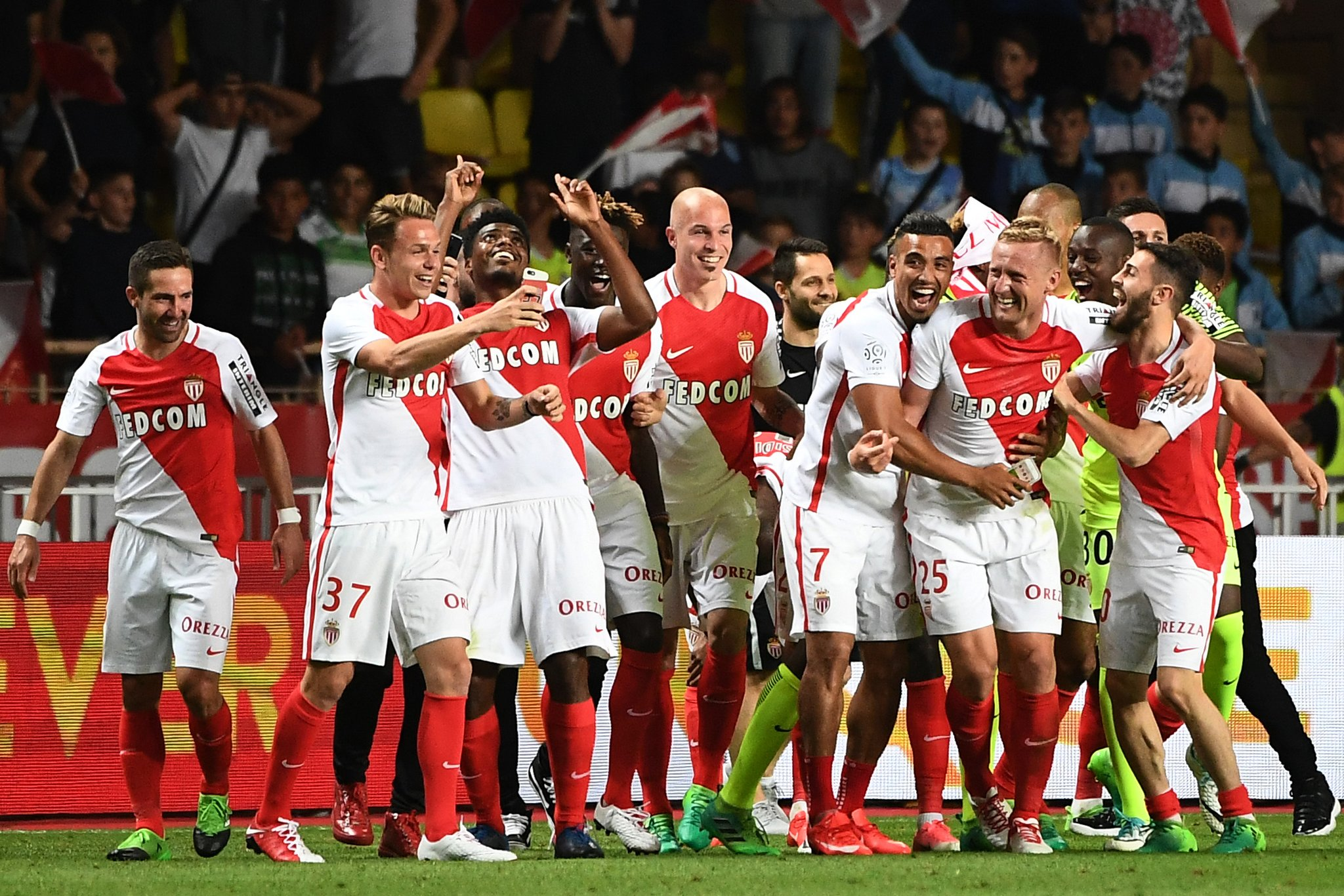 Monaco officially became the champion of France