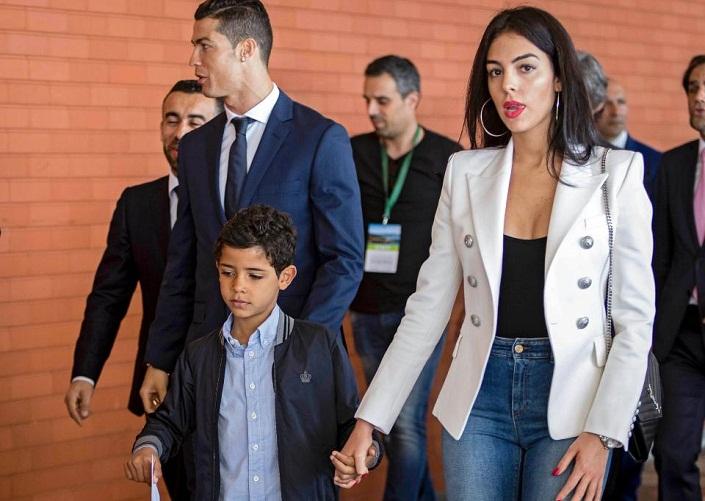 Cristiano Ronaldo Jr., Georgina Rodriguez