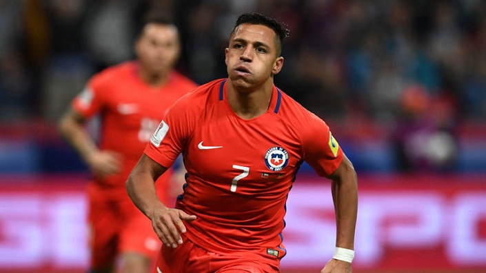 Sanches becomes leading scorer as Chile draw 1-1 with Germany