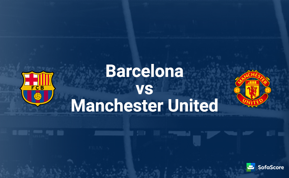 Barcelona vs. Manchester United - Football Match Report
