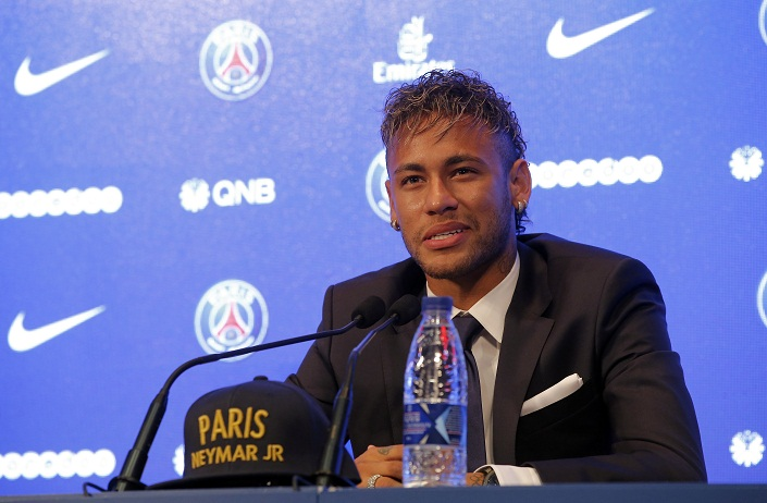 Neymar denies money was motivation for record deal